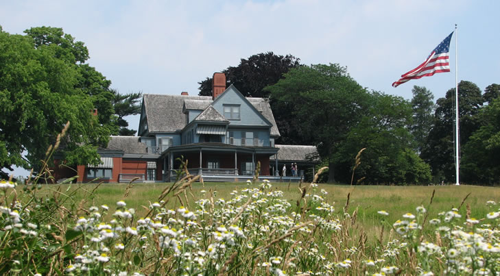 Sagamore Hill front view